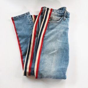 Joe's Jeans Striped Skinny 28